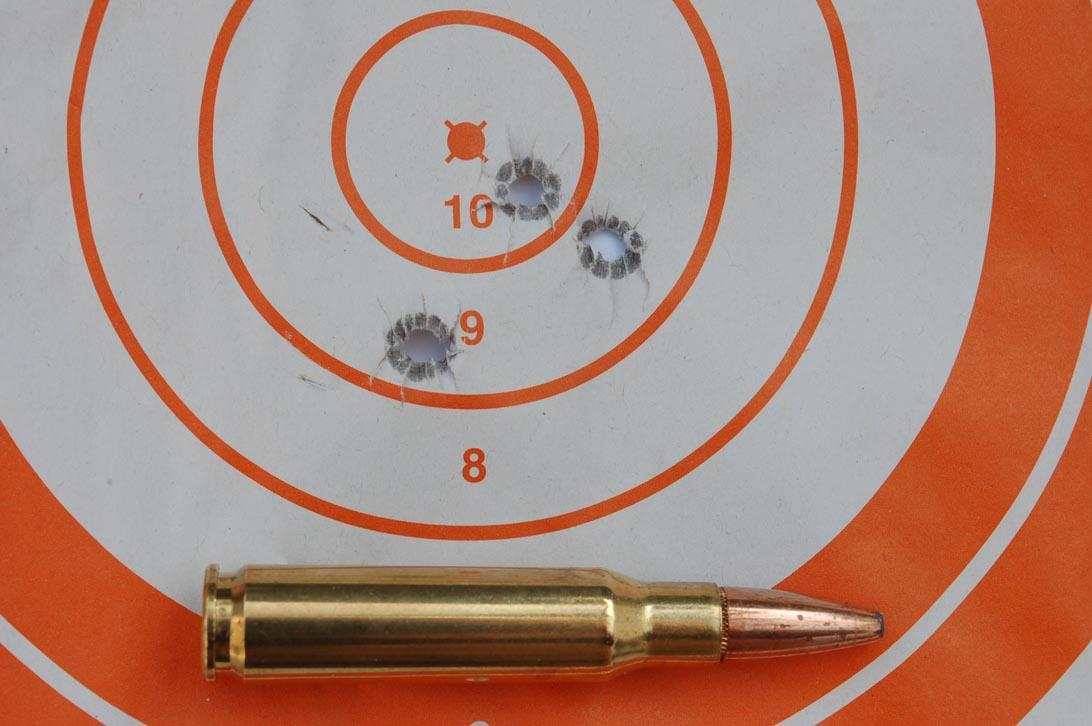 Test al poligono di tiro