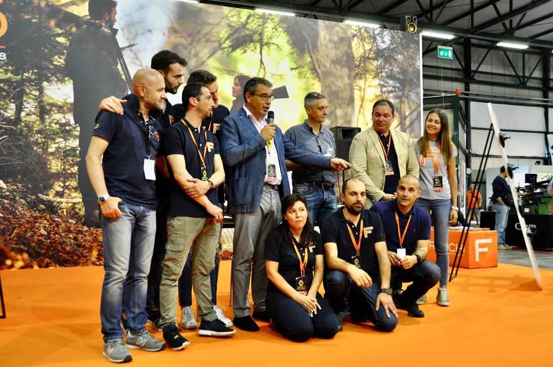 Team Franchi presso il Caccia Village 2018