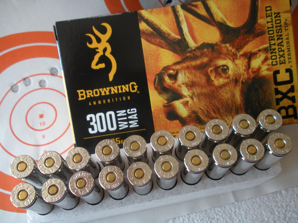 Browning ammunition 300 win mag