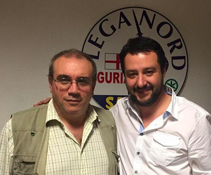 Salvini e Bruzzone - Lega Nord