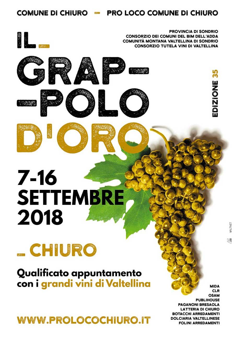 Il Grappolo d'Oro - Sagra Chiuro - Valtellina - Lombardia