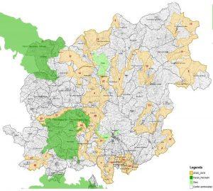 Caccia in Campania - Cartografia 2018 AVCC