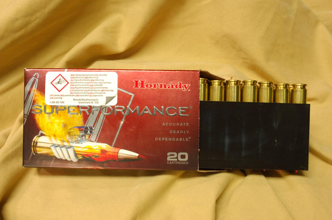 Hornadty Superfrmance cartridges