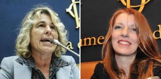 Stefania Craxi e Michela Brambilla
