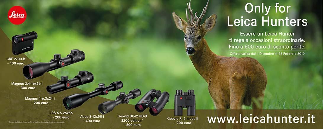 Promozione Leica Hunter