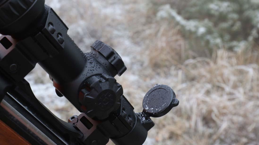 Il Konus M-30 1-6×24 durante una battuta di caccia al cinghiale