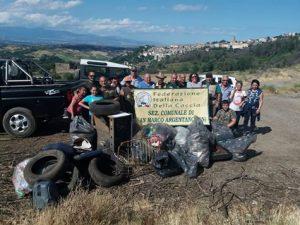 A caccia di rifiuti