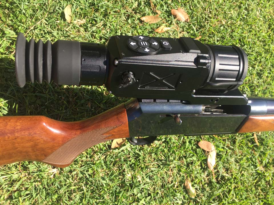 visore termico per carabina da caccia