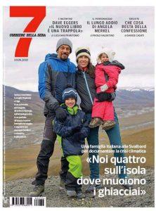 La copertina di 7 del Corriere della Sera