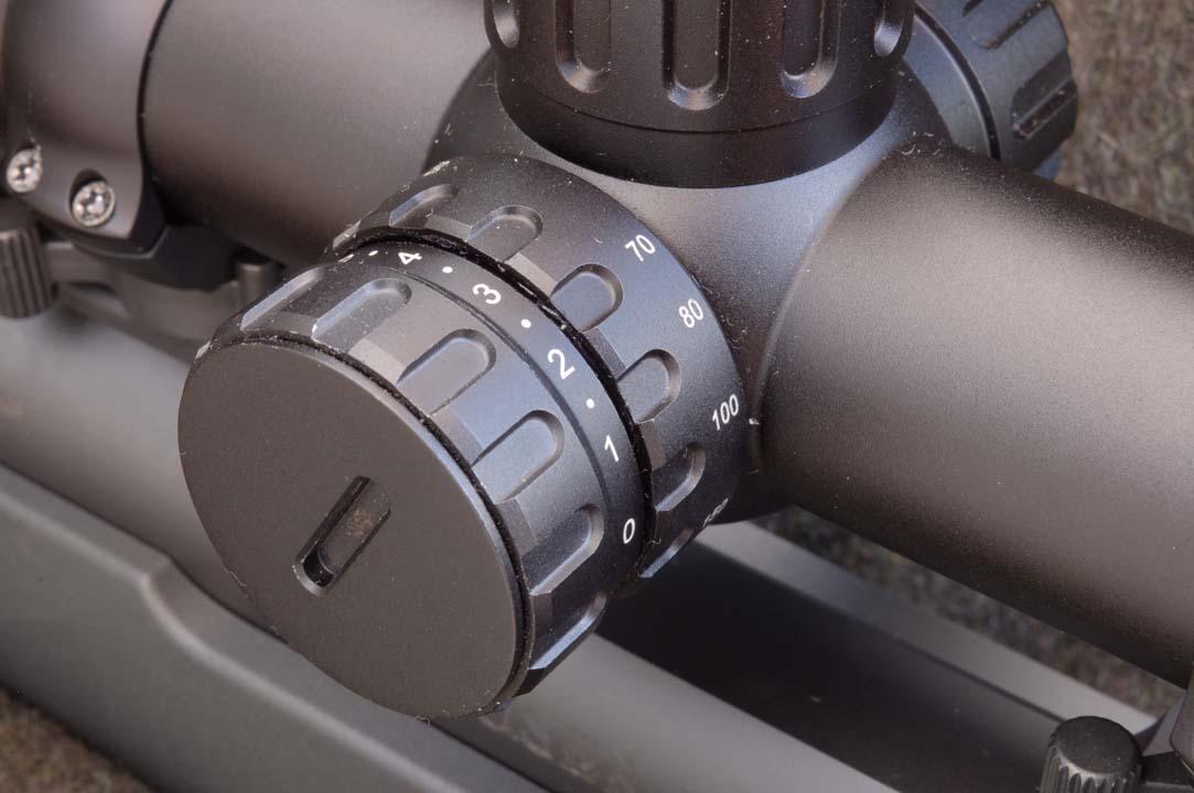 torretta balistica Minox ZX 5 3-15x56