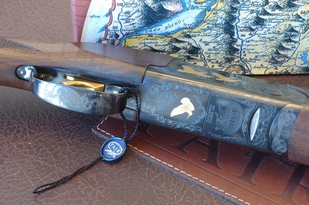 fucile sovrapposto fair slx de luxe black