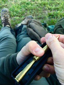 ricaricare le munizioni