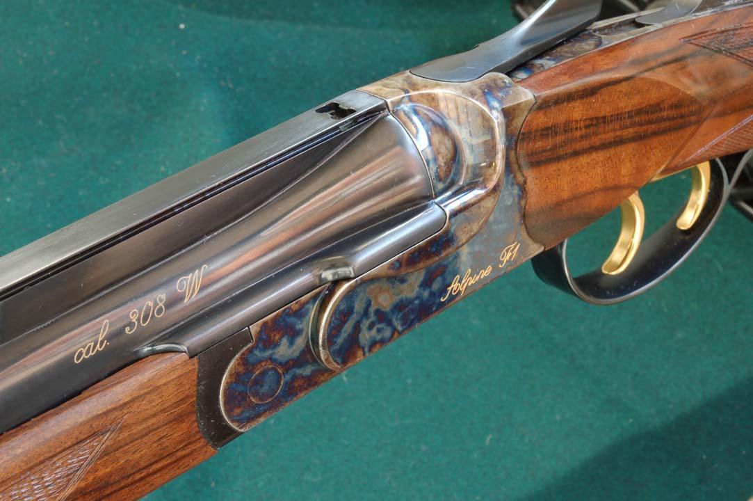 fucile anima rigata kipplauf falco arms