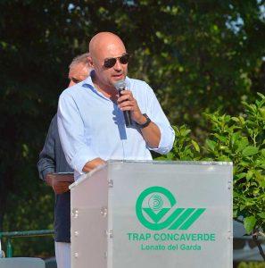 Il presidente del Trap Concaverde Ivan Carella