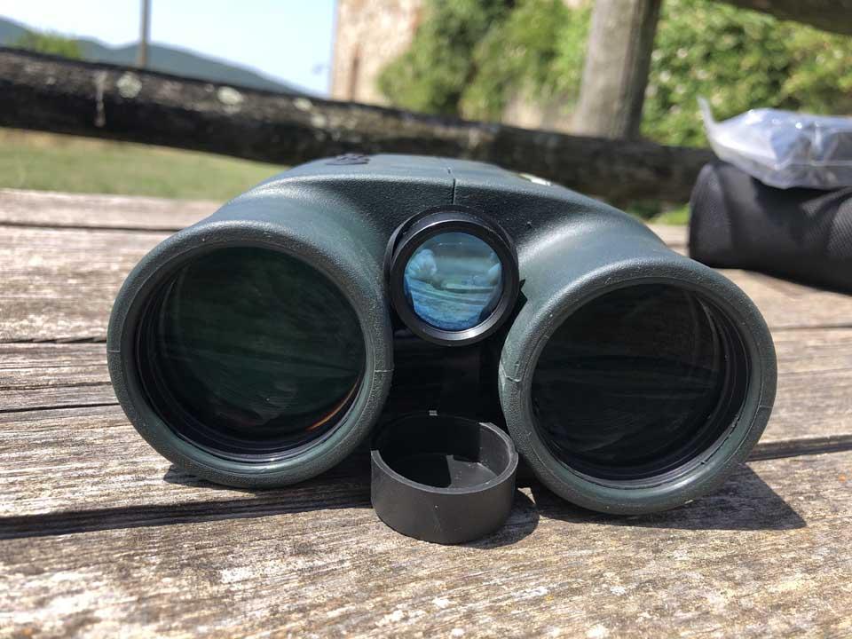 ottiche da caccia binocolo telemetro konus range 2