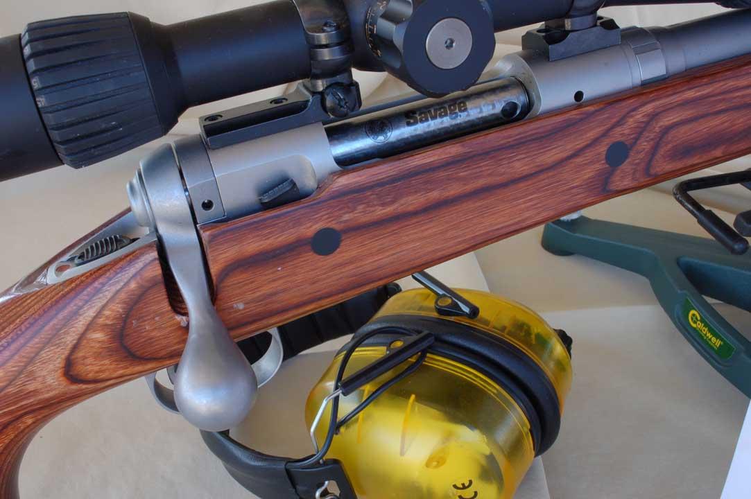 La carabina Savage Mod. 12 in calibro .308 Win. pronta per la nostra prova