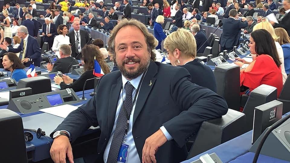 europarlamentare della Lega Massimo Casanova