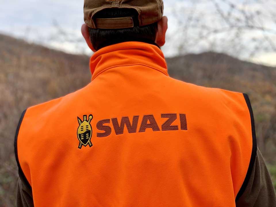 swazi abbigliamento da caccia
