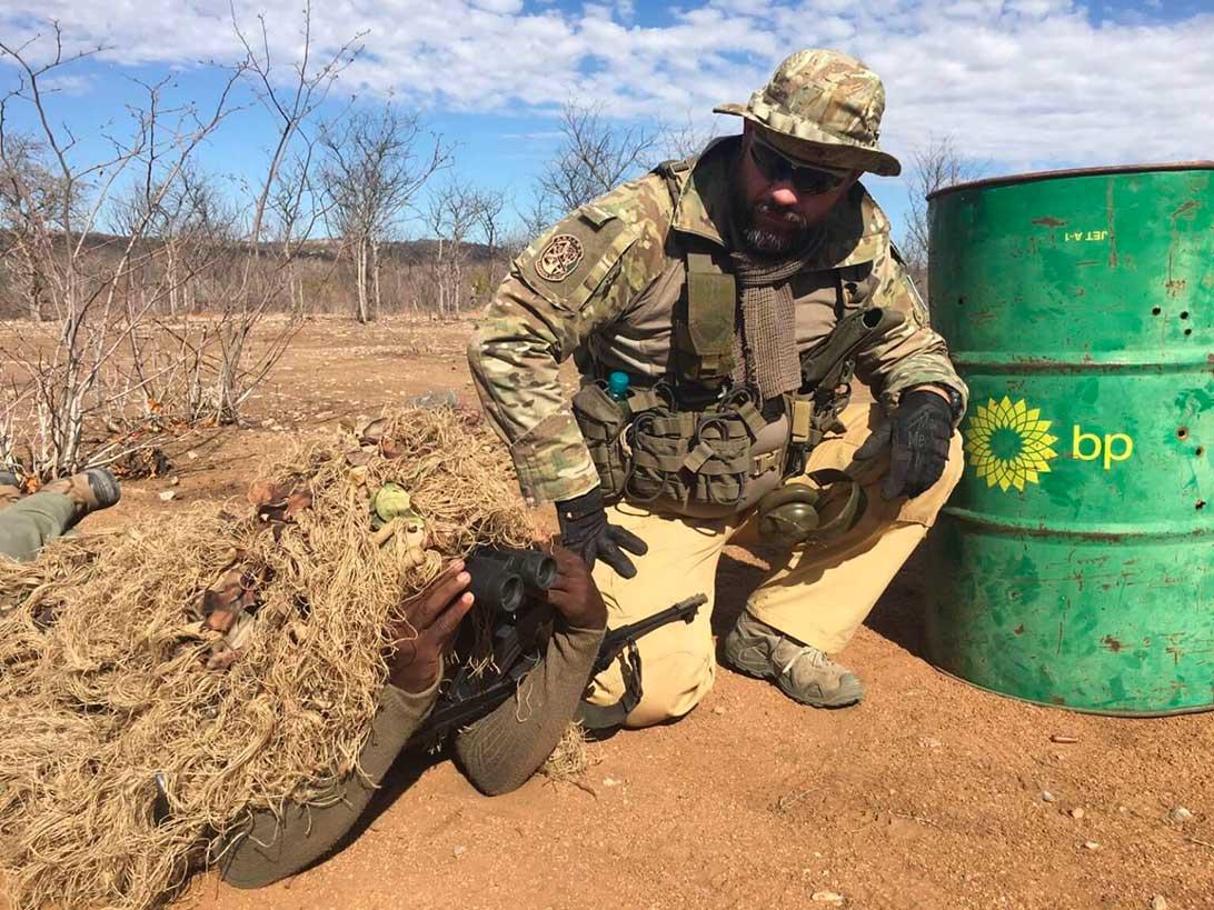 formazione ranger africano