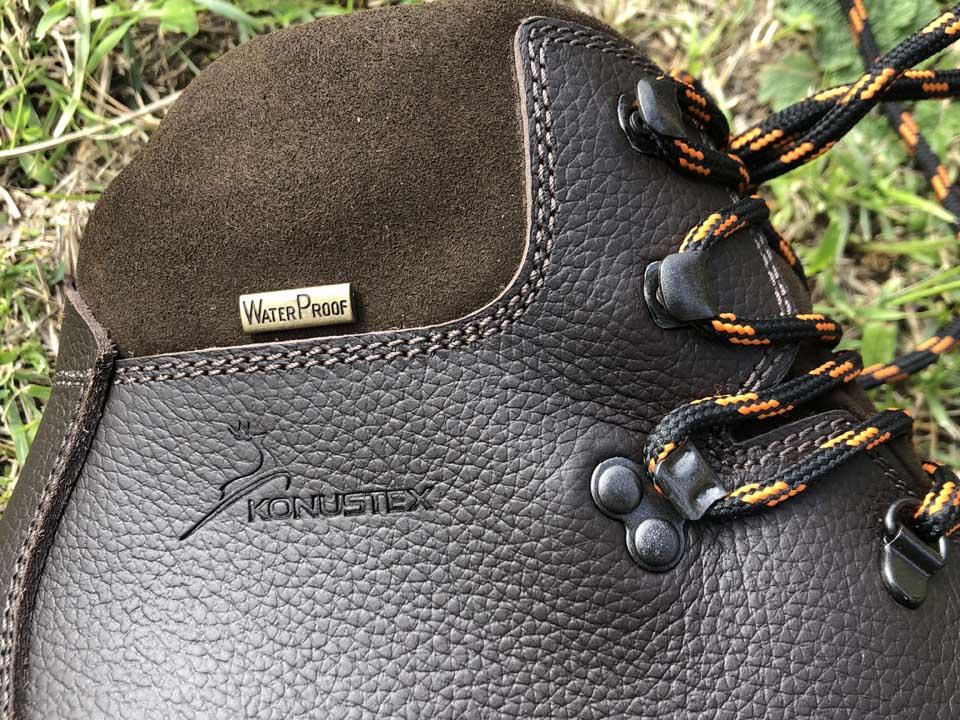 scarpa trekking caccia konustex