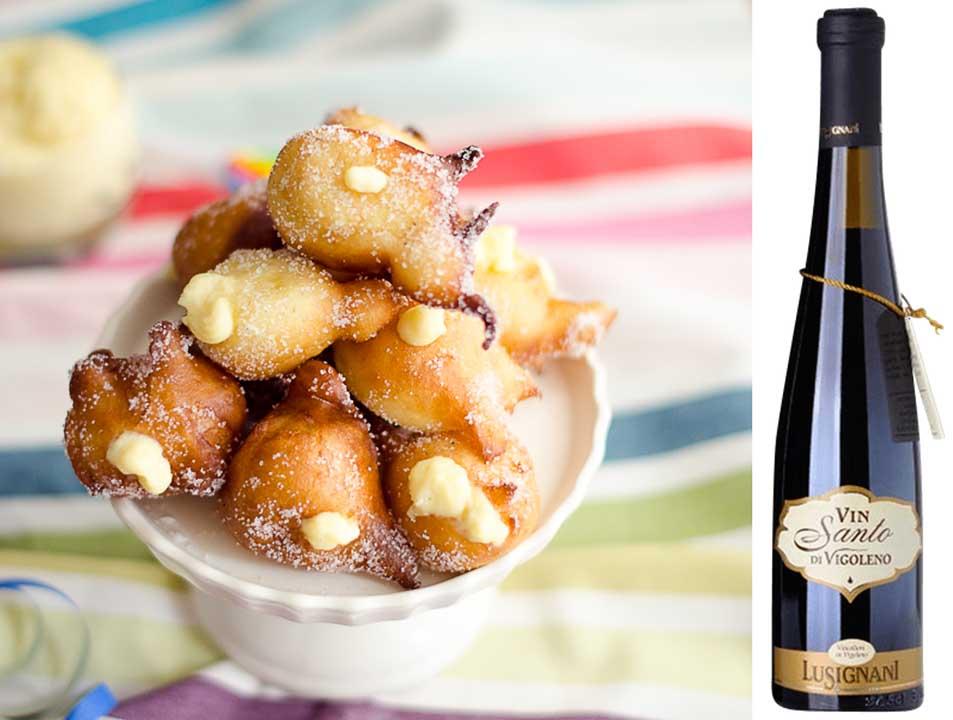 Tortelli con Vin Santo di Vigoleno