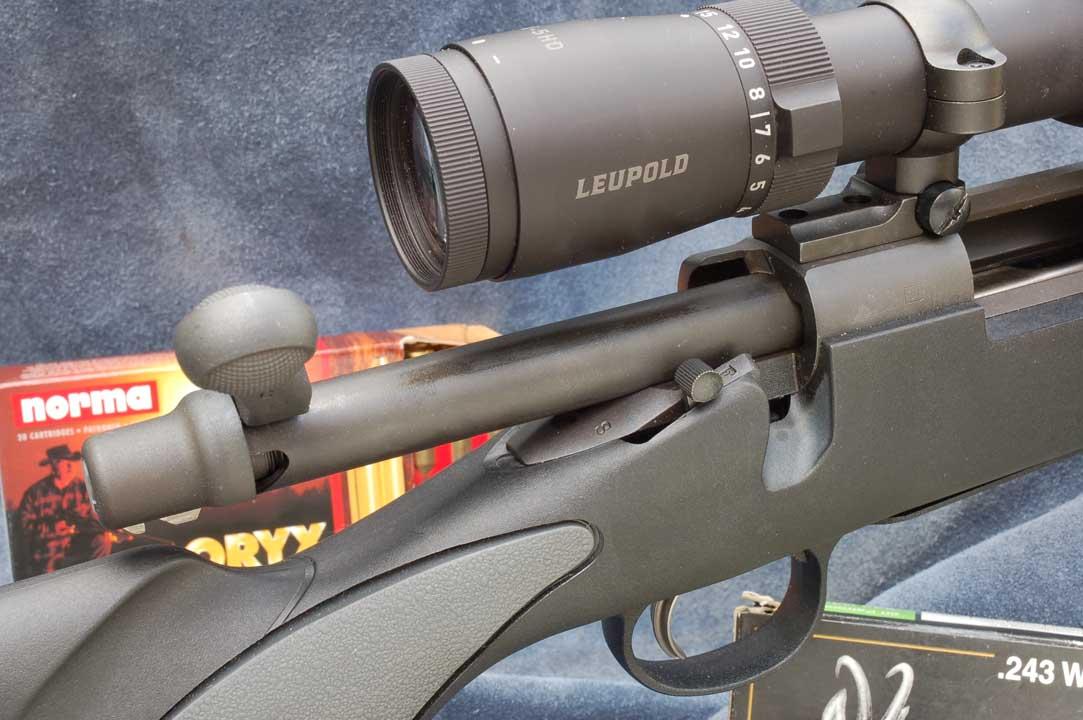 Carabina Remington e ottica Leupold