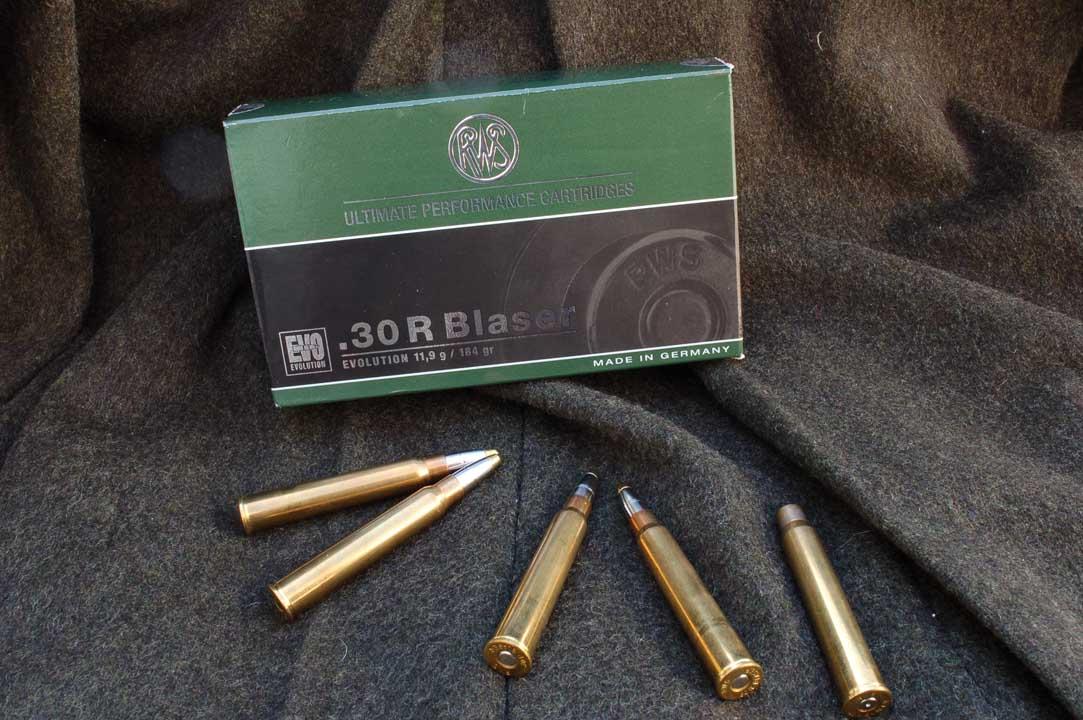 munizioni blaser .30 r